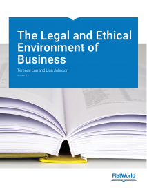 """The Legal and Ethical Environment of Business, v. 2.0"" icon"