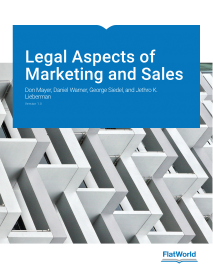 Legal aspects of marketing book