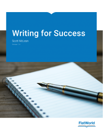 """Writing for Success"" icon"