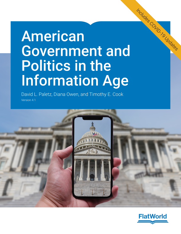 Cover of American Government and Politics in the Information Age v4.1