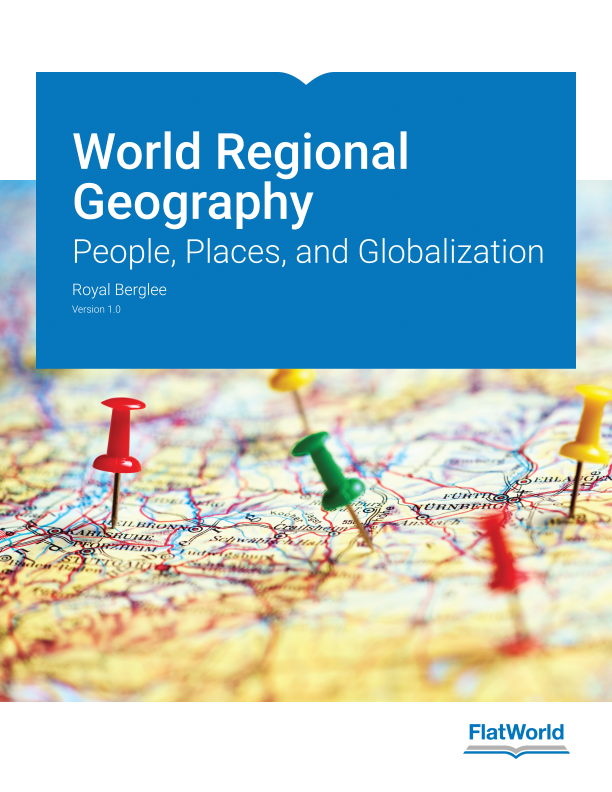 Cover of World Regional Geography: People, Places, and Globalization v1.0