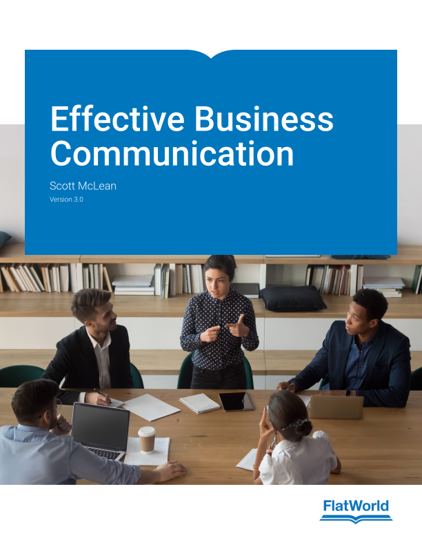 Cover of Effective Business Communication v3.0