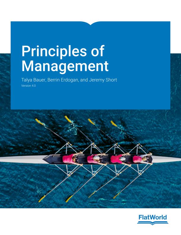 Cover of Principles of Management v4.0