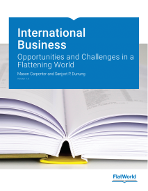 Adoption Report: International Business: Opportunities and Challenges in a Flattening World