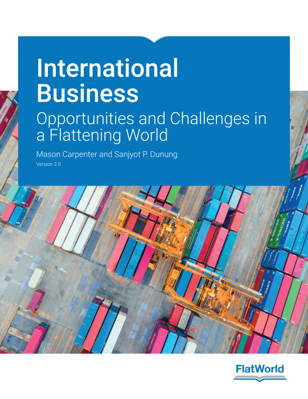 Cover of International Business: Opportunities and Challenges in a Flattening World v2.0