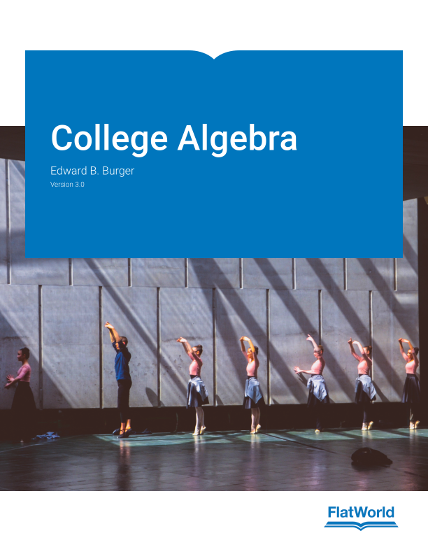 Cover of College Algebra v3.0