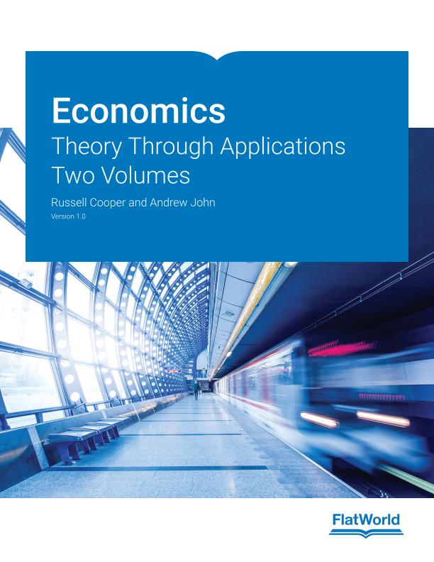 Cover of Economics: Theory Through Applications v1.0