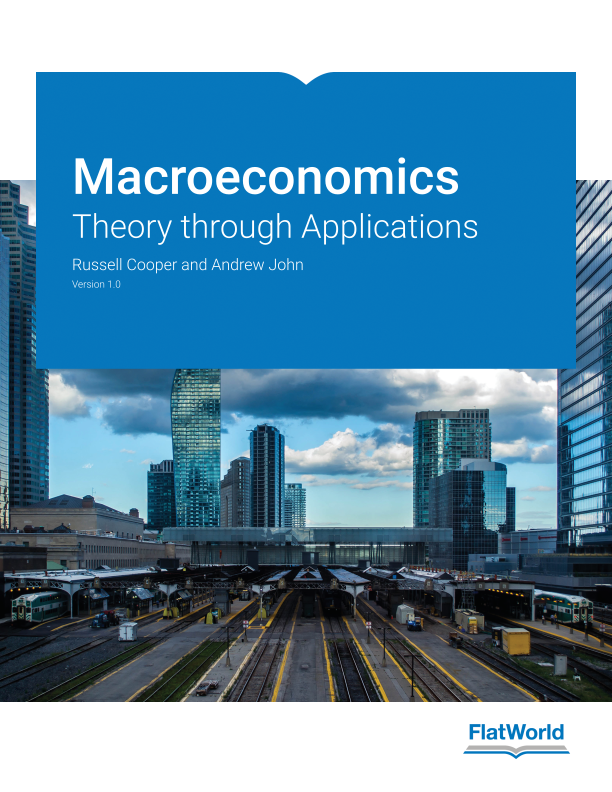 Cover of Macroeconomics: Theory through Applications v1.0