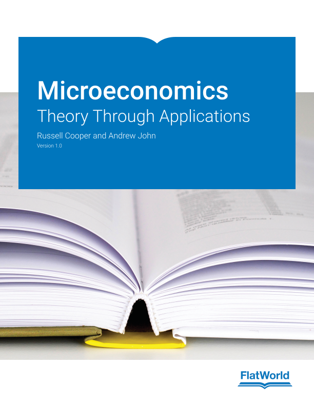 Cover of Microeconomics: Theory Through Applications v1.0