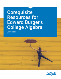 Corequisite Resources for Edward Burger's College Algebra