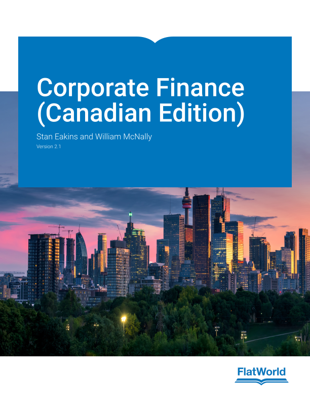 Cover of Corporate Finance (Canadian Edition) v2.1