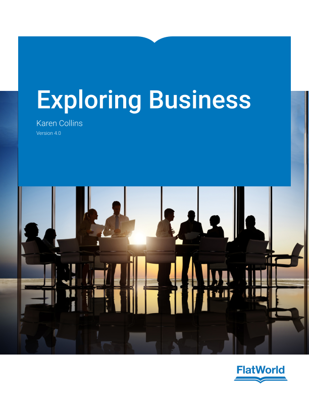 Cover of Exploring Business v4.0