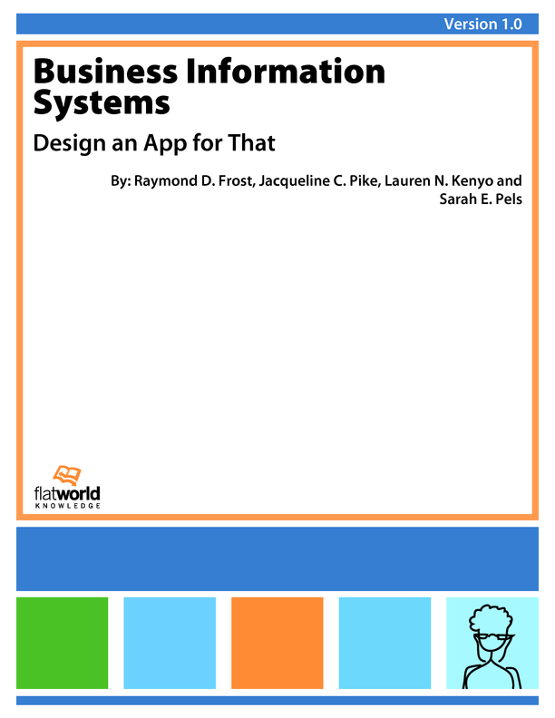 Cover of Business Information Systems: Design an App for That v1.0