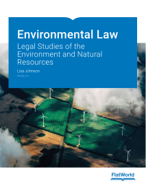 Environmental Law: Legal Studies of the Environment and Natural Resources