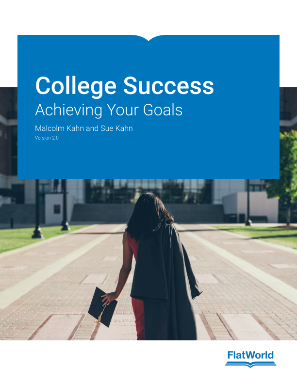 Cover of College Success: Achieving Your Goals v2.0