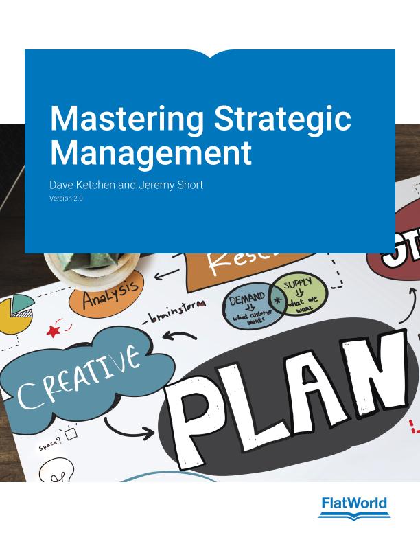 Cover of Mastering Strategic Management v2.0