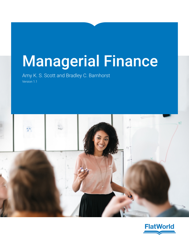 Cover of Managerial Finance v1.1