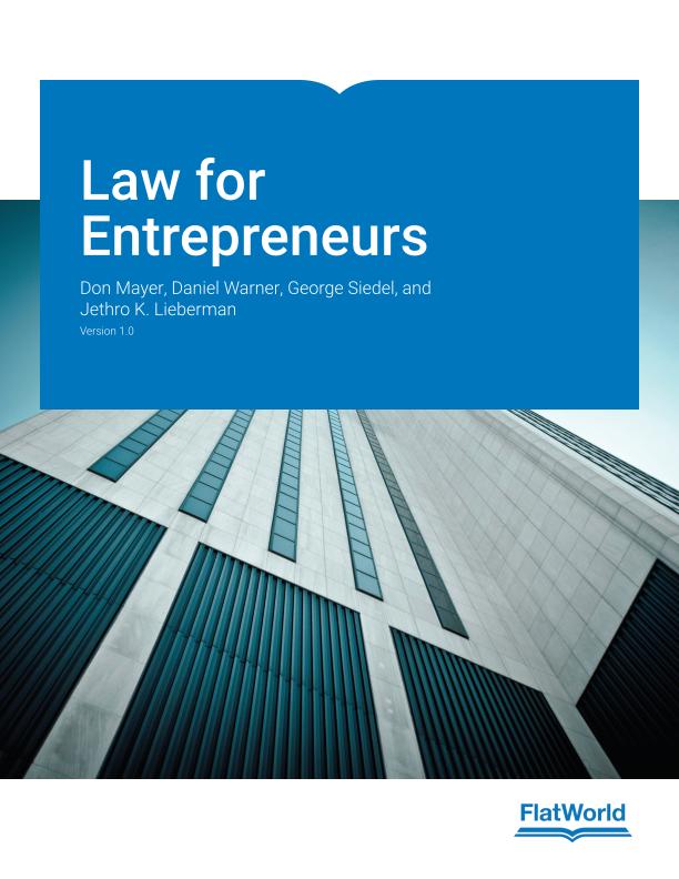 Cover of Law for Entrepreneurs v1.0