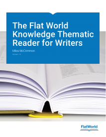 The Flat World Knowledge Thematic Reader for Writers