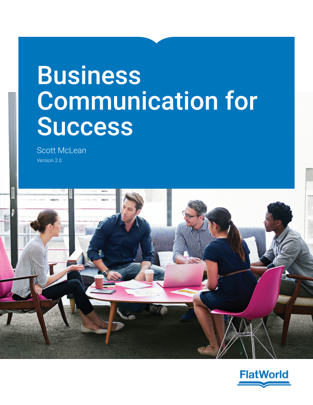 Business Communication Book Cover ~ Business communication for success