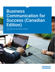 Business Communication for Success (Canadian Edition)