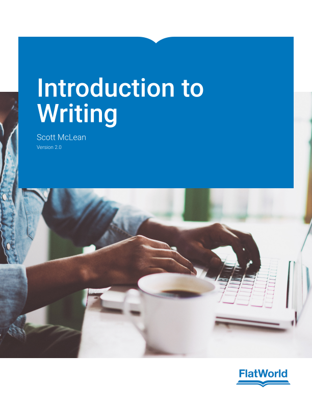 Cover of Introduction to Writing v2.0