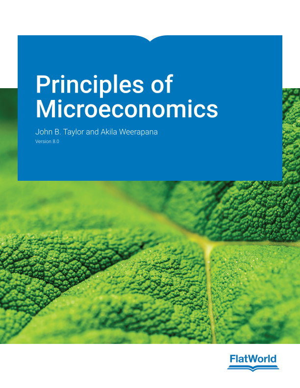 Cover of Principles of Microeconomics v8.0