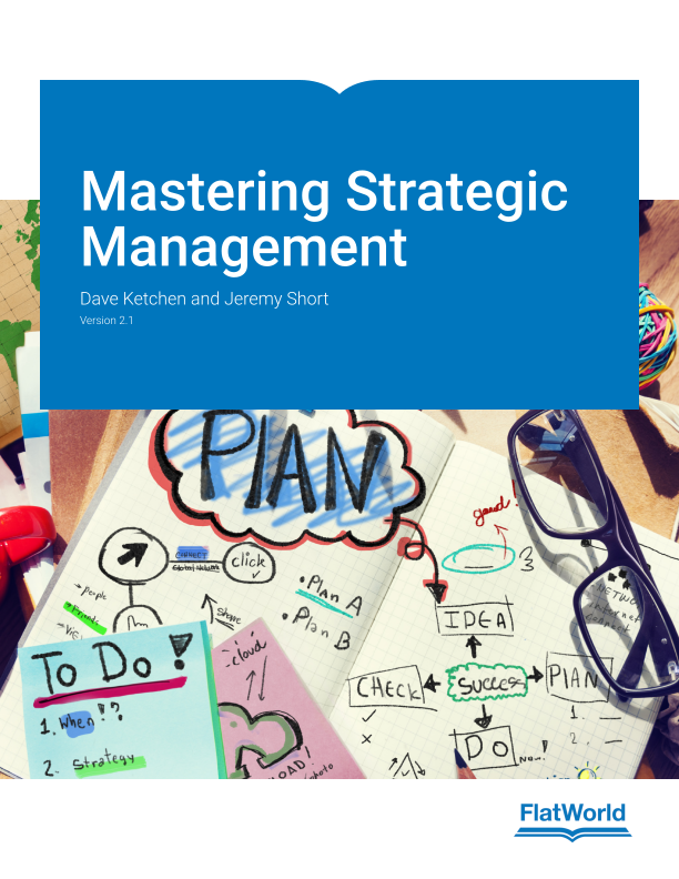 Cover of Mastering Strategic Management v2.1