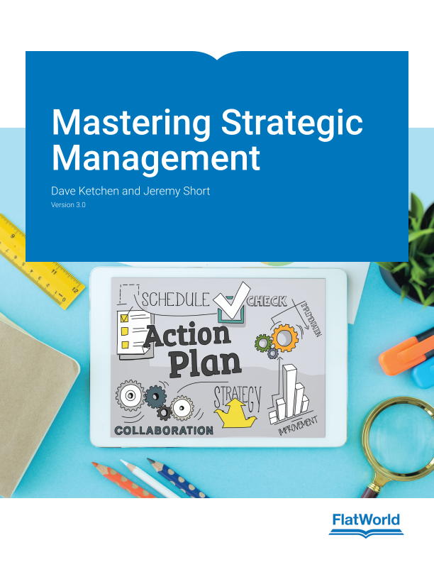 Cover of Mastering Strategic Management v3.0