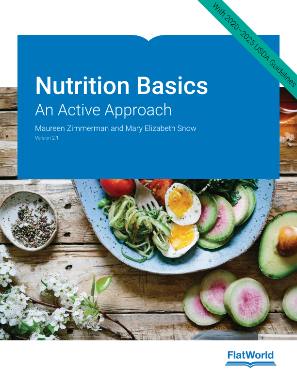 Cover of Nutrition Basics: An Active Approach v2.1