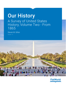 Our History: A Survey of United States History, Volume Two - From 1865
