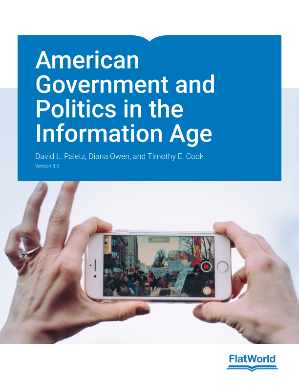 Cover of American Government and Politics in the Information Age v3.0