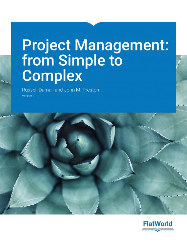 Cover of Project Management: from Simple to Complex v1.1