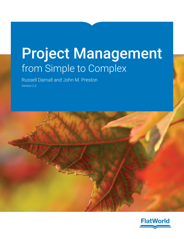 Cover of Project Management: from Simple to Complex v2.0