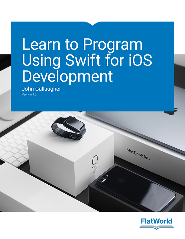 Cover of Learn to Program Using Swift for iOS Development v1.0