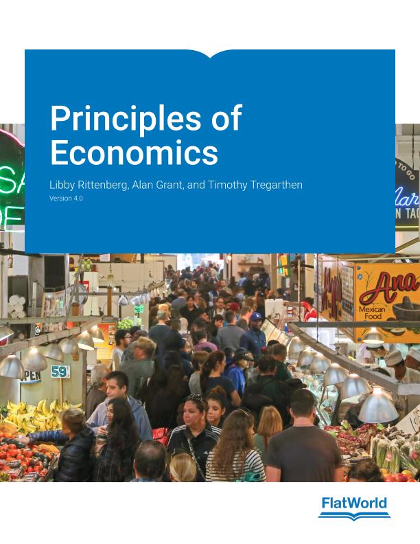 Cover of Principles of Economics v4.0