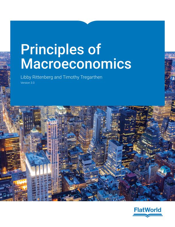 Cover of Principles of Macroeconomics v3.0