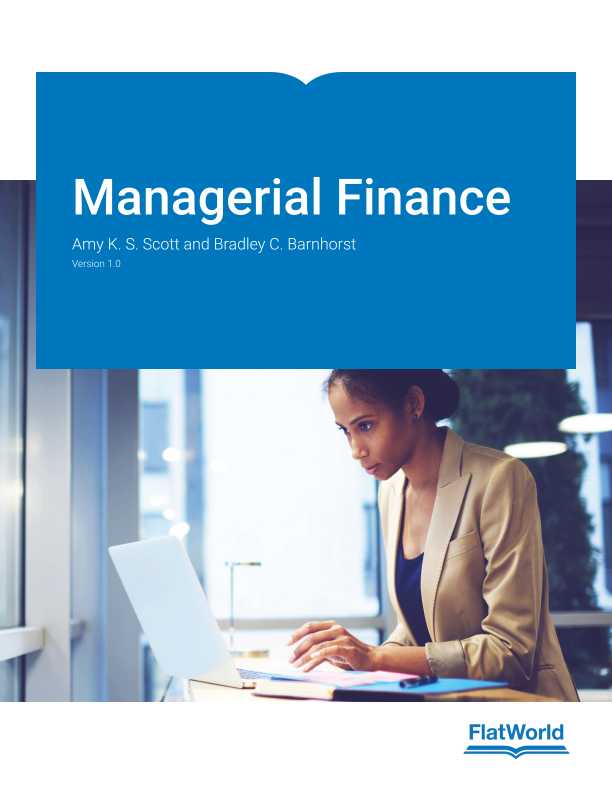 Cover of Managerial Finance v1.0