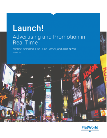 Launch! Advertising and Promotion in Real Time