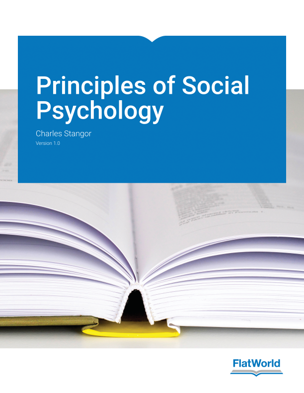 Cover of Principles of Social Psychology v1.0