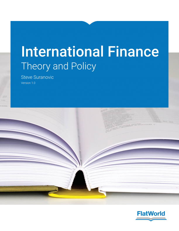 Cover of International Finance: Theory and Policy v1.0