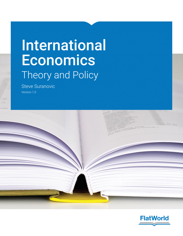 Cover of International Economics: Theory and Policy v1.0