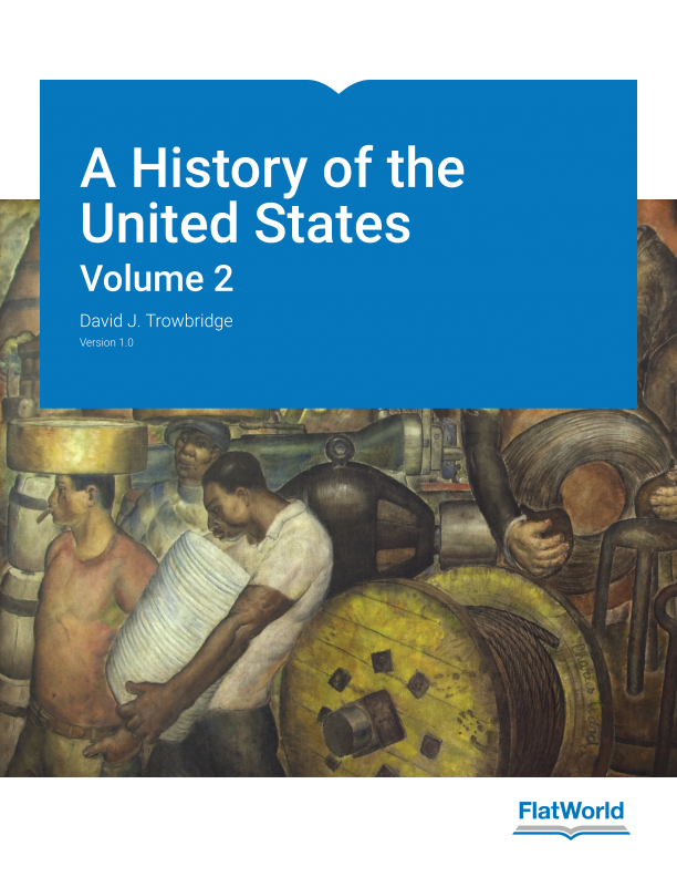 Cover of A History of the United States, Volume 2 v1.0