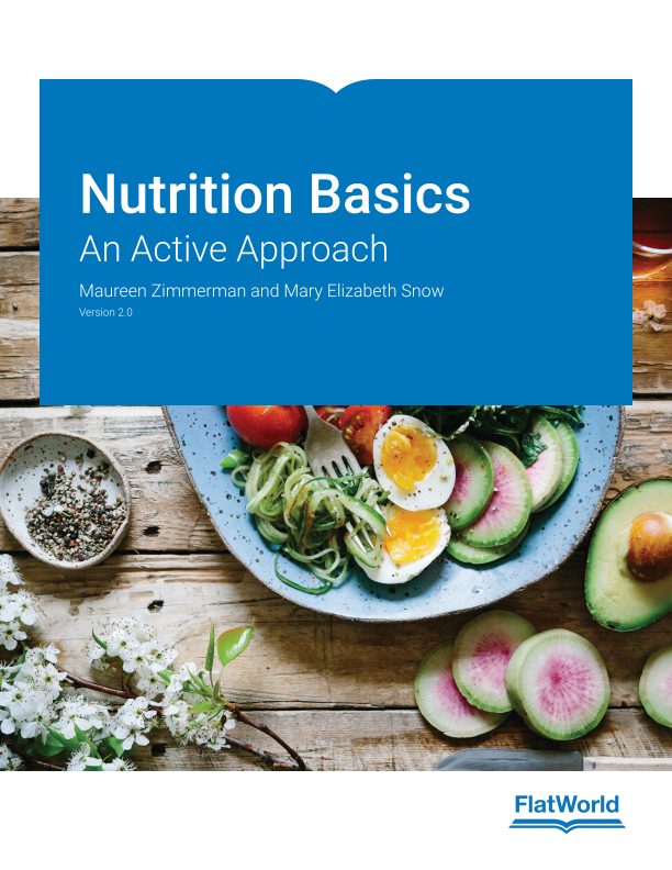 Cover of Nutrition Basics: An Active Approach v2.0